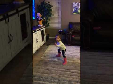 Zoe - Elmo Slide Dance