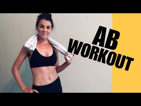 15 MIN TOTAL CORE/AB WORKOUT – SIX PACK WORKOUT