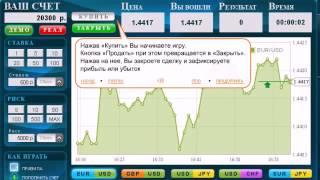 Симулятор реальной биржевой торговли игра Pley Forex avi