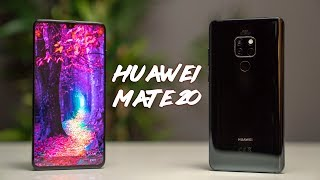 Huawei Mate 20 - Small Notch + Headphone Jack!