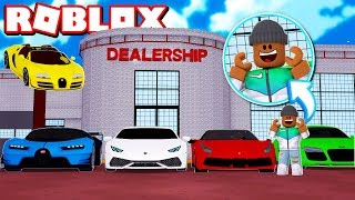 MAKING A $1,000,000 CAR DEALERSHIP IN ROBLOX