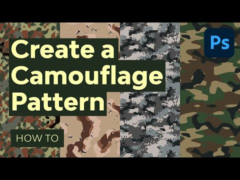 Design Your Own Camouflage Pattern in Photoshop