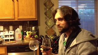Jamaican Mama teaches a french guy how to drink wine