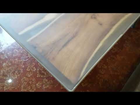 Resin table top for dinning