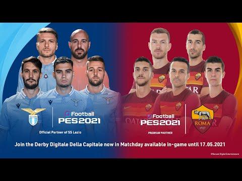 Derby Digitale Della Capitale - eFootball PES 2021 - AS Roma v SS Lazio