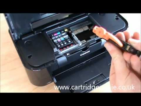 canon pixma ip4600 how to set up and install ink cartridges youtube. Black Bedroom Furniture Sets. Home Design Ideas