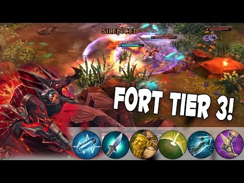 CP Fortress + Tier 3 = MONSTER! | Vainglory FORTRESS TIER 3 Skin [Quest To Vainglorious Ep. 7]