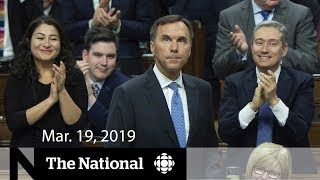 WATCH LIVE: The National for March 19, 2019