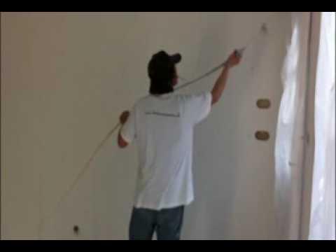 Peindre Un Mur Rapidement Avec Pistolet Airless Wagner Sf 31 - Youtube