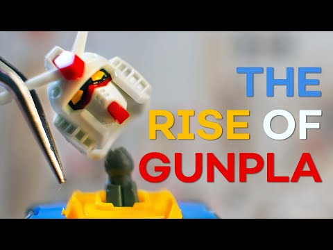 How Gundam Became an EMPIRE | The Rise of Gunpla - Anime Explained