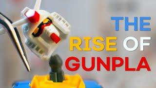 How Gundam Became an EMPIRE   The Rise of Gunpla - Anime Explained