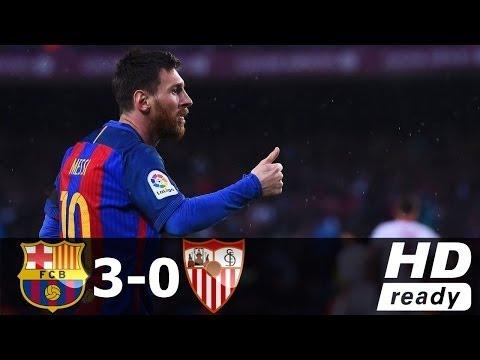 Download Barcelona vs Sevilla 3-0 - All Goals & Extended Highlights - La Liga 05/04/2017 HD