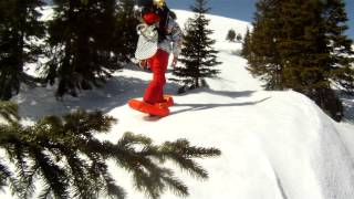 Inflatable Snowshoes by Small Foot - Airboard Test Thumbnail