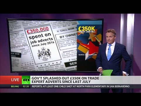 Govt spent £350k on trade adverts since July