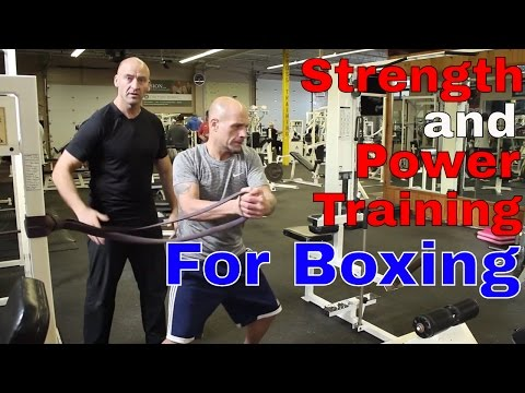 Strength and Power Training for Boxing | Ft. Josh Hewett