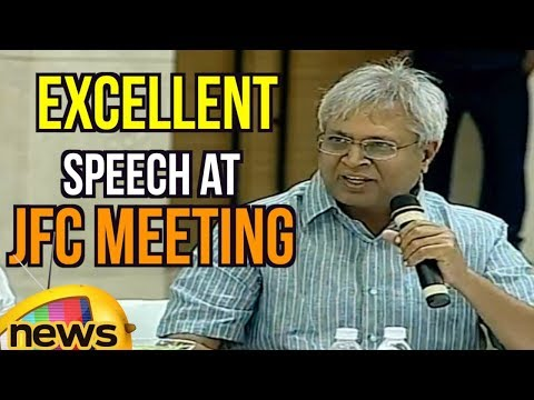 Undavalli Arun Kumar Excellent Speech at JFC Meeting, Blames Congress Party | Mango News