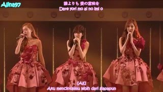 Gambar cover [INDO SUB KPOP] Girls Generation (SNSD) All my love is for you 3rd Japan Tour