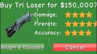 Roblox   Zombie Attack Gameplay #20   Factory   150k Dollar Tri-Laser!!!