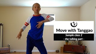 Sample class 2 - Encouraging trunk mobility in Figure 8 movement