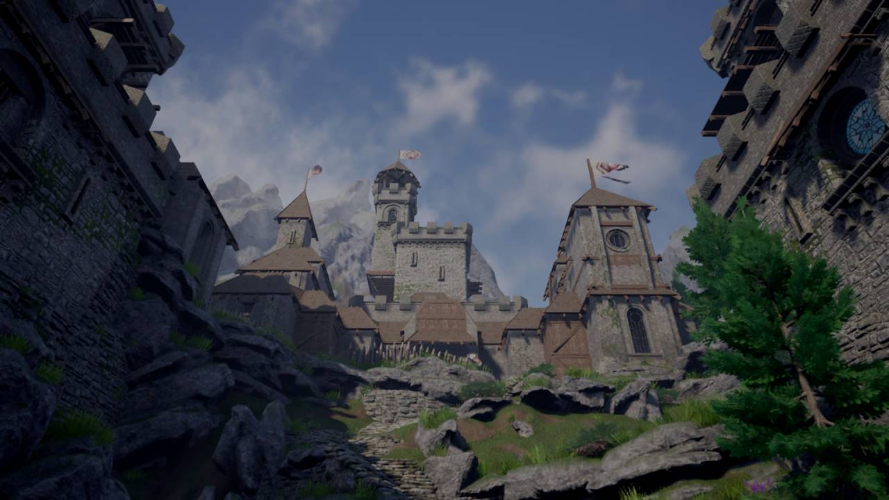 UE4) Castle Fortress - Game Ready