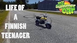 How to be a Finnish TEENAGER - My Summer Car