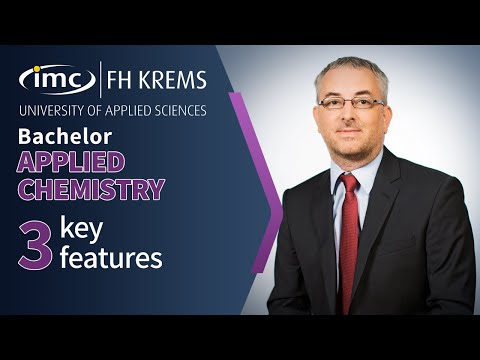 3 key features for | Applied Chemistry