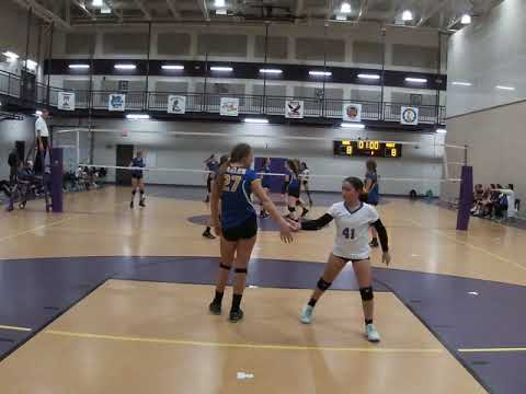 Liberty Middle School vs Papillion Middle School - 2019 Championship Volleyball Game