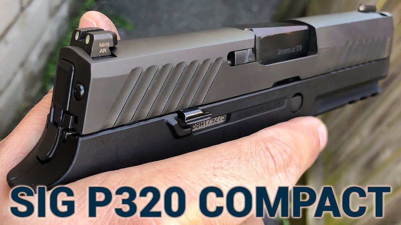 Gun Review: The Sig Sauer P320 Compact (VIDEO)