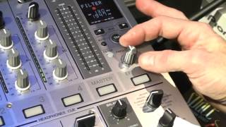 Pioneer DJM 700 DJ Mixer Demonstration With DJ Tutor