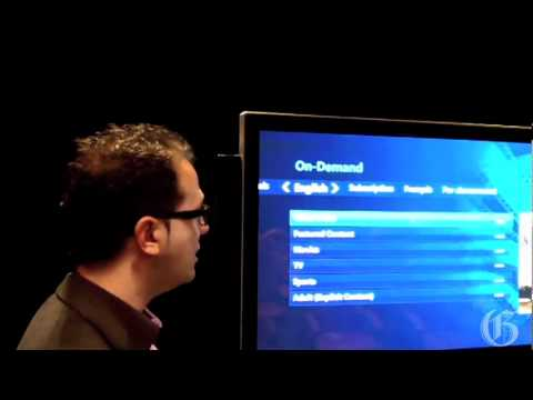 A Demonstration Of Bell Canada's Fibe TV
