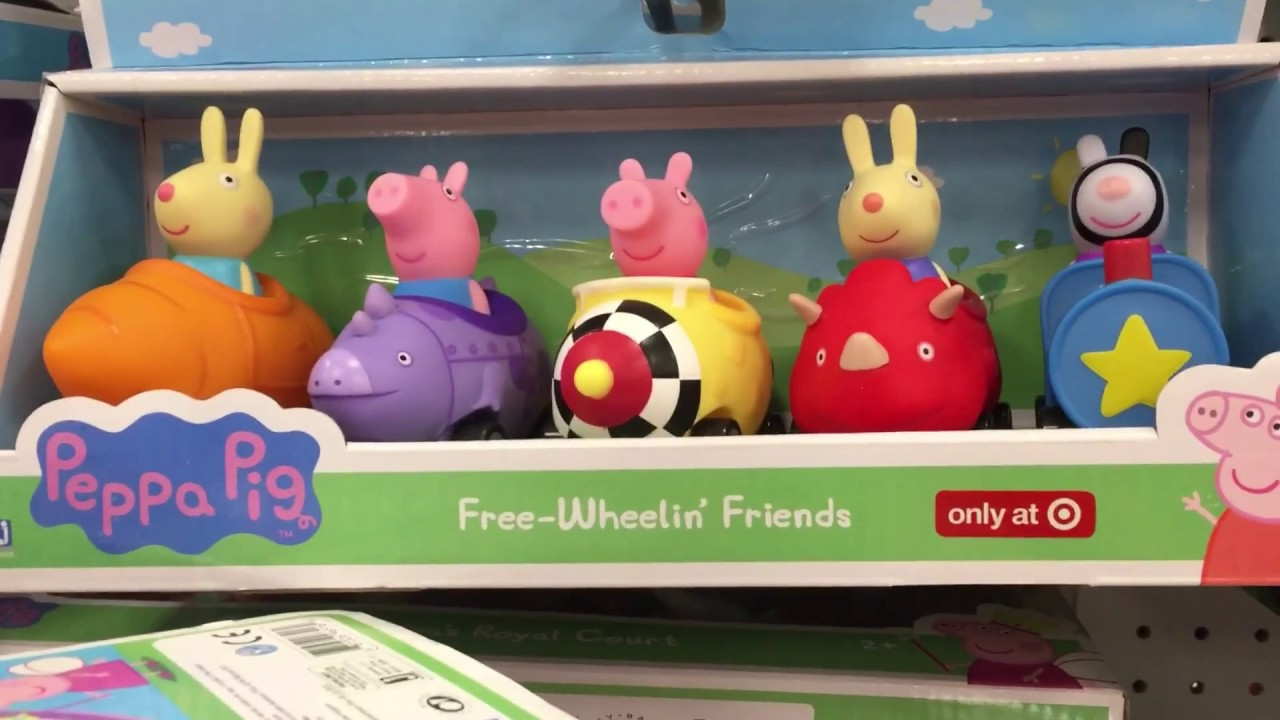 0ea38bd59 Pippa Pig and Disney Toy Hunt at Target - YouTube