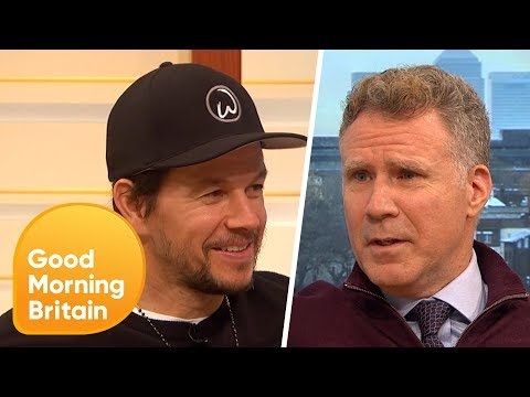 Will Ferrell Left Speechless as Mark Wahlberg Reveals He Has a Third Nipple!  Good Morning Britain