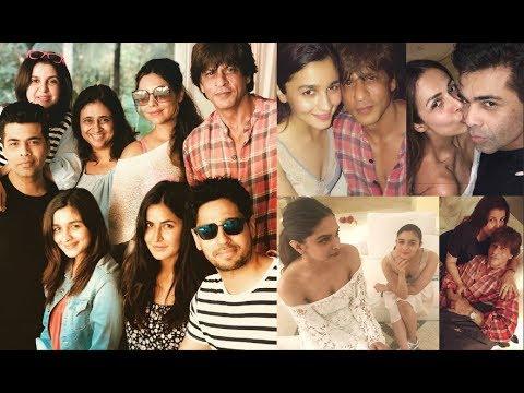 Shahrukh Khan GRAND Birthday Party At Alibaug Beach House - Alia, Deepika, Katrina, Suhana, Malaika