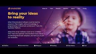 Sparkster: ICO Обзор  - легкое создание программного обеспечения