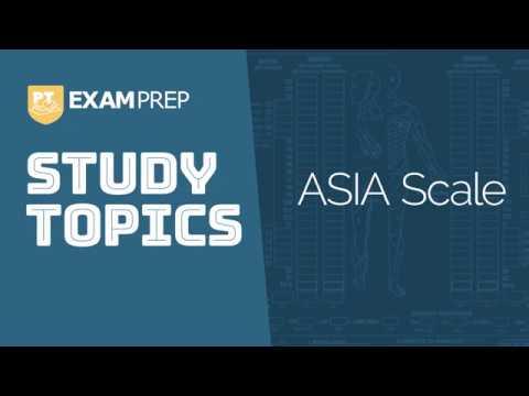 Study Topics: ASIA Scale
