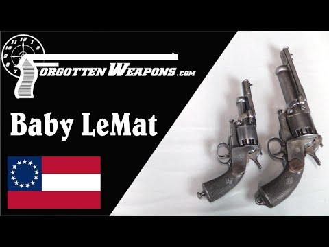 Confederate Navy Baby LeMat Grapeshot Revolver