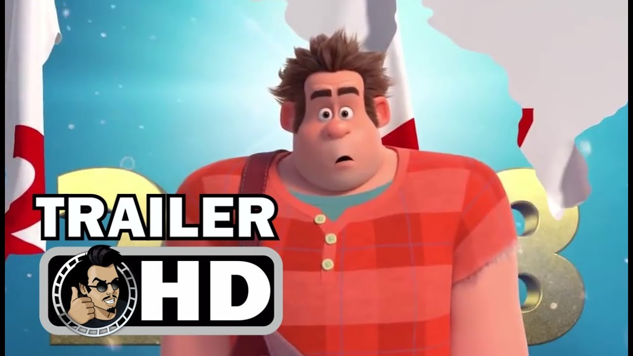 WRECK-IT RALPH 2 New Years Trailer (2018) Disney Animated ...