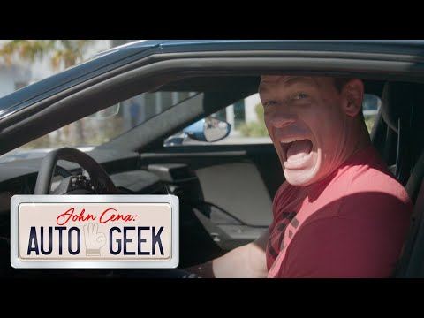 John Cena gets SPOOKED by a Ford GT's Frankenstein ROAR! – John Cena: Auto Geek