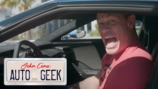 John Cena gets SPOOKED by a Ford GT
