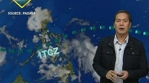 24 Oras: Pag-ulan sa malaking bahagi ng Luzon at Visayas, asahan bukas dahil sa ITCZ