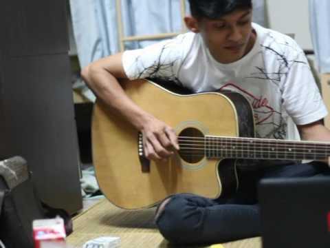 Lungset ( cover akustik anak rantau)