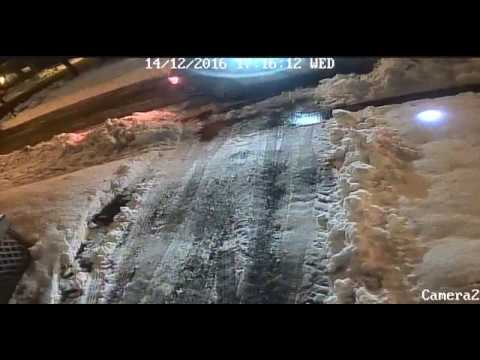 CBRM Police Smash Garbage Can Dec 14 16/ STORY BELOW