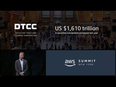 AWS Summit Series 2018 - New York: Robert Palatnick, CTA at DTCC