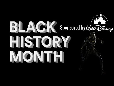 Black History Month: Sponsored By Disney