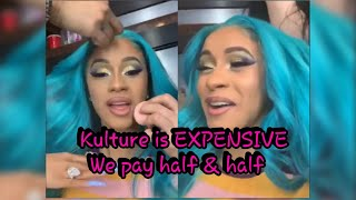 Cardi B Says Kulture Is EXPENSIVE &amp Goes HRD For Offset