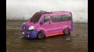 Renault Trafic из пластилина | RENAULT from clay