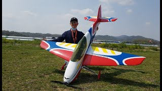 F3A KRILL SPARK maiden flight …