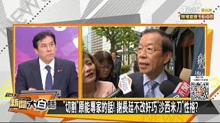 拿台灣的血暖日本的心? 謝長廷何時歸化日本籍? 新聞大白話 20210426