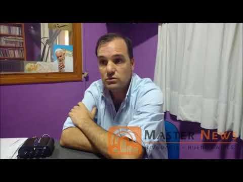 MASTER NEWS: Int. Javier Reynoso y Pte. del HCD Jorge Rosolen hablan del conflicto docente Parte 1