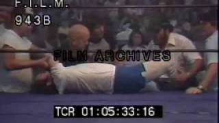 Andy Kaufman vs Jimmy Hart (stock footage / archival footage)